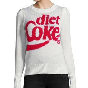 Wildfox Diet Coke Sweater, NWT
